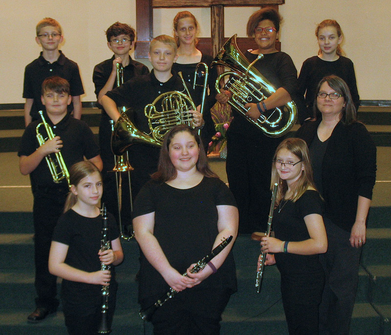 Beginning Band - Northeast Baptist School, West Monroe, LA